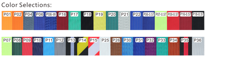 Stanchion Belt Color Selection
