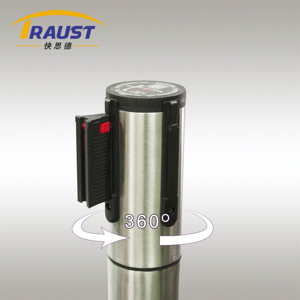 Rotated 360 degree Head for Retractable Belt Stanchion.jpg