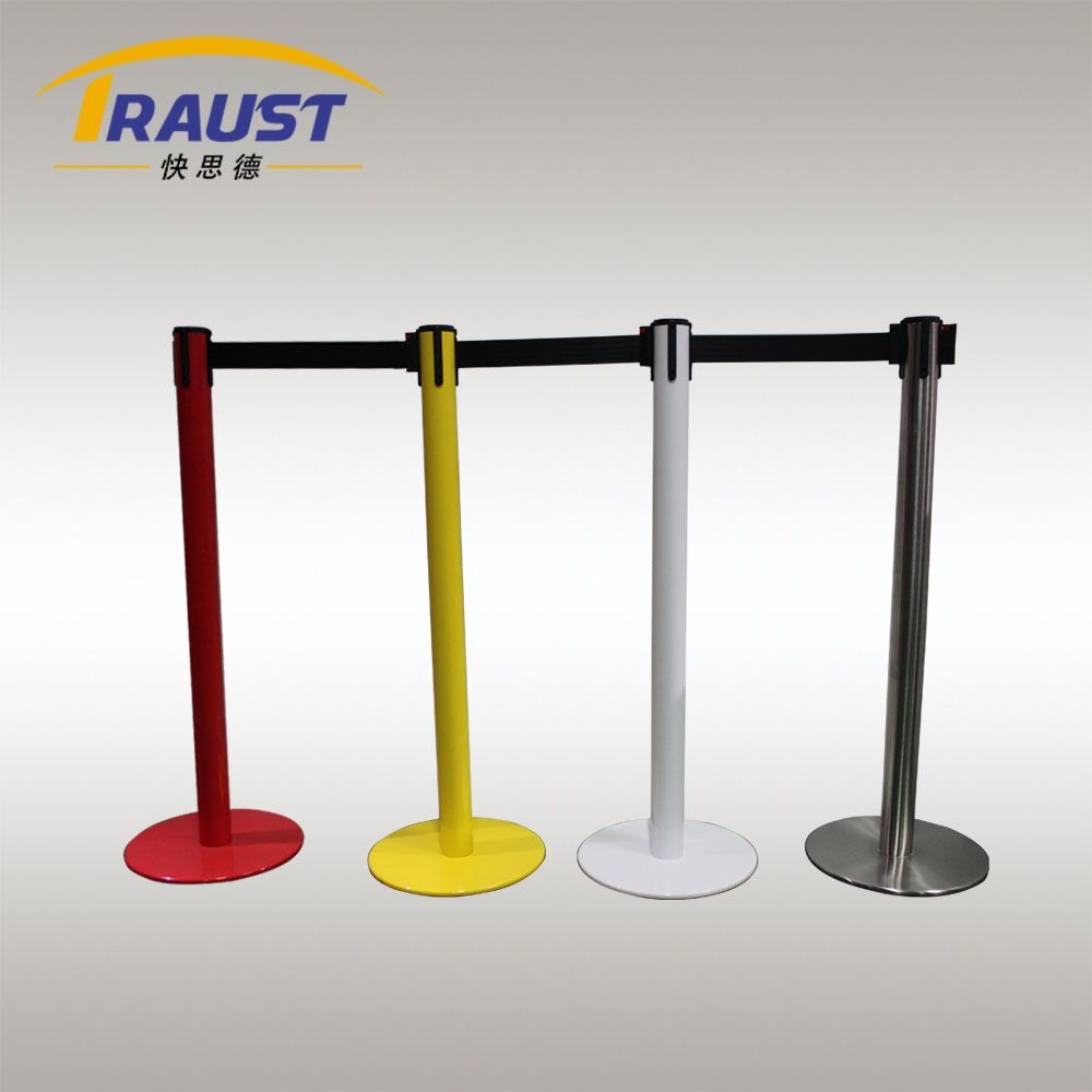 crowd control barrier posts with retractable belt.jpg